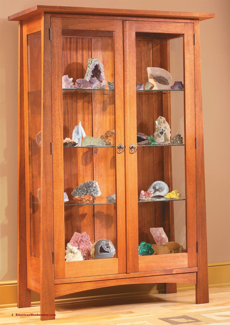 Delicieux Display Cabinet Open Sides And Built In Lights Showcase Your Treasures. By  Randy Johnson Some Cabinets Are All About Displaying The Beauty Of Wood.