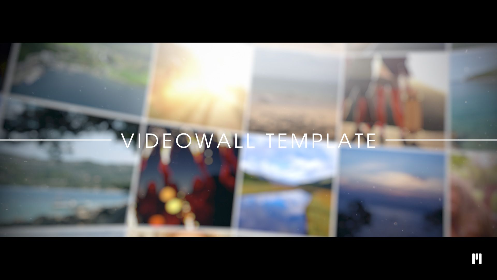Impressive Videowall Template available!