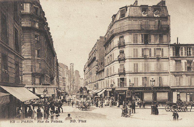 Epingle Par Esclarmonde De Hurlevent Sur H Rue De Paris Historique Paris