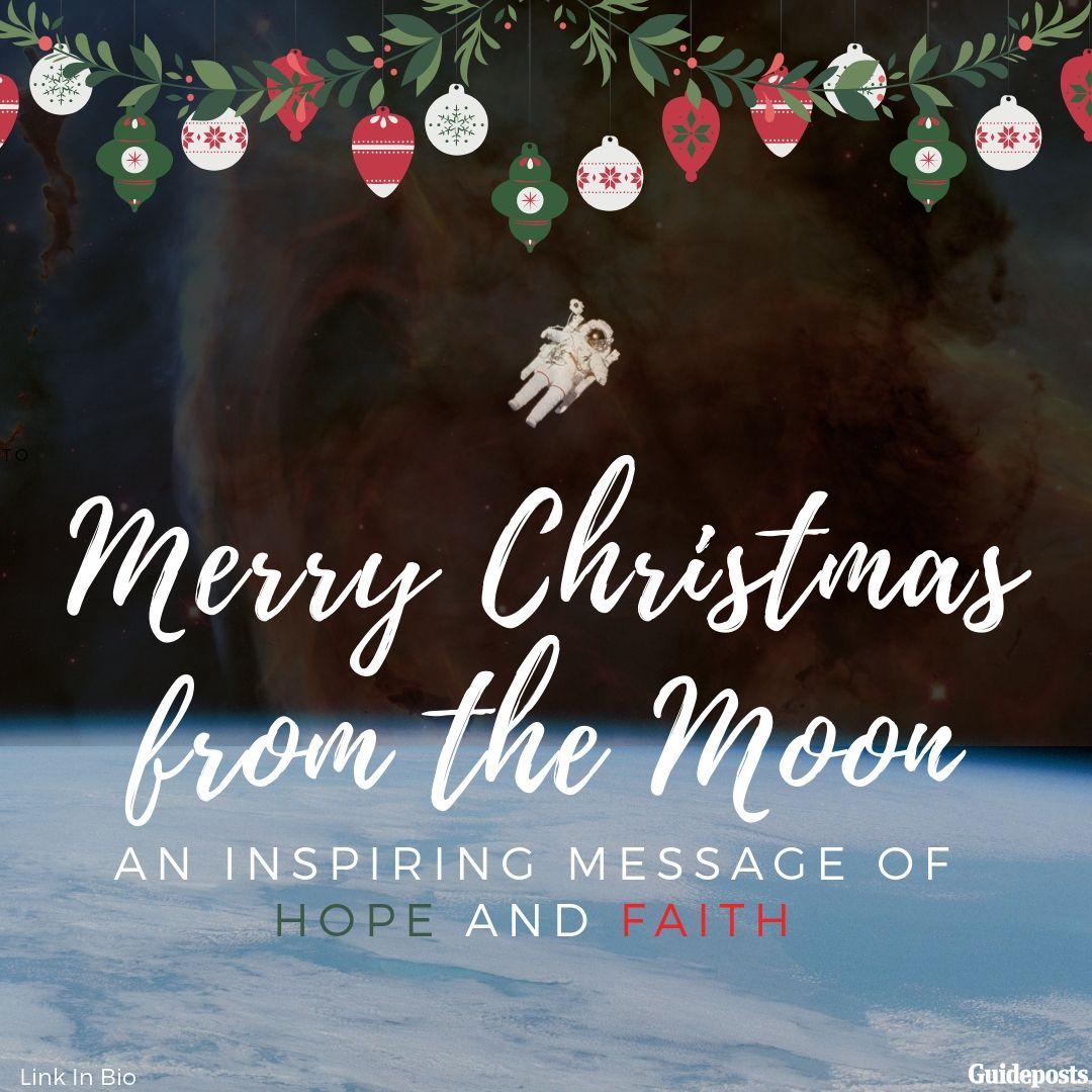 Merry Christmas From The Moon An Inspiring Message Of Hope And