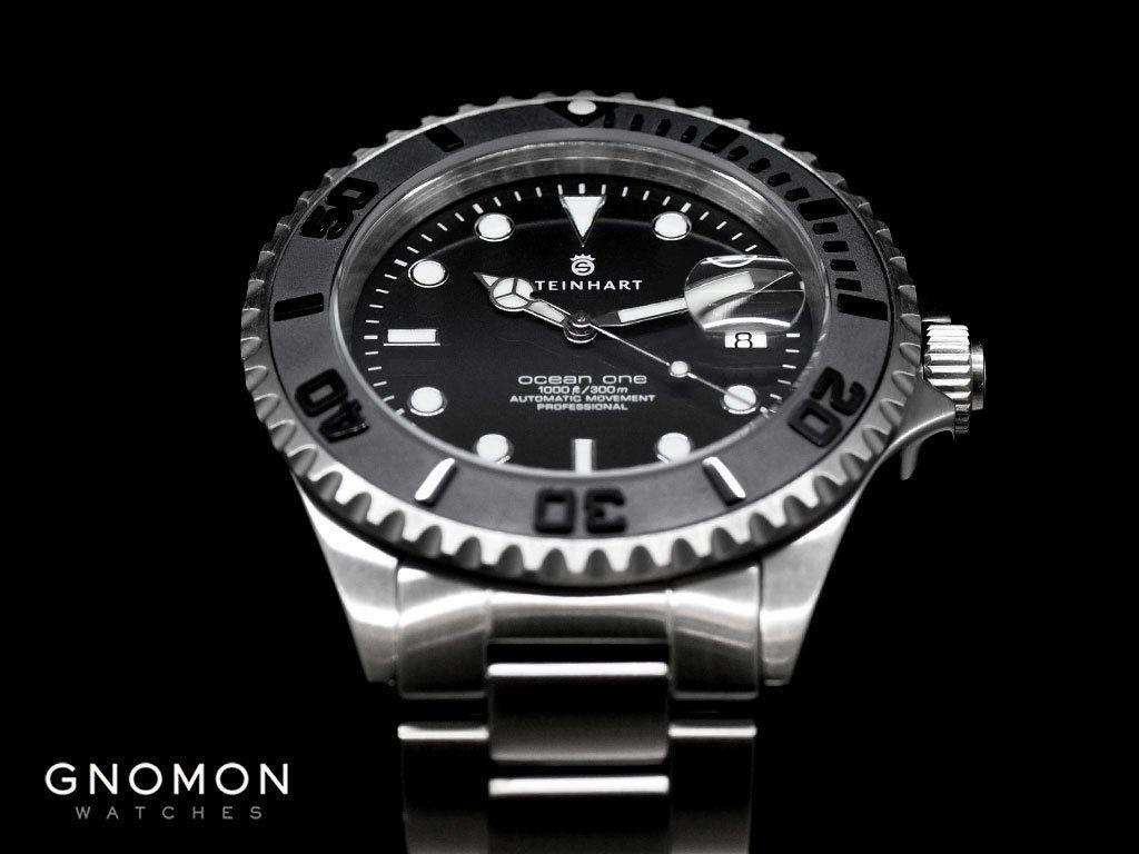 Ocean 1 Black Ceramic for Gnomon | Luxury watches for men