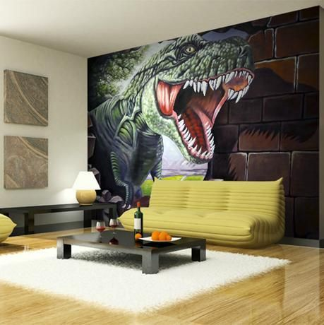 35 Awesome Dinosaur Wallpaper For Bedroom Images Pisos