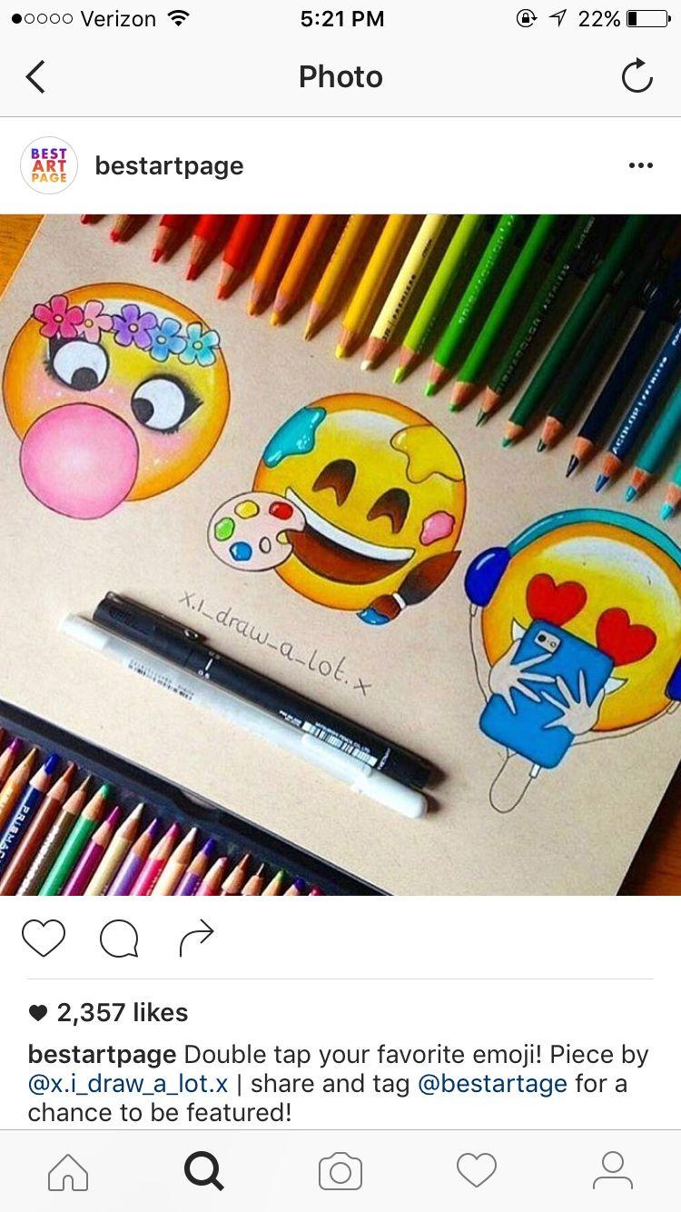 Dessin Emoji Feutre A Alcoo Smiley в 2019 г Emoji