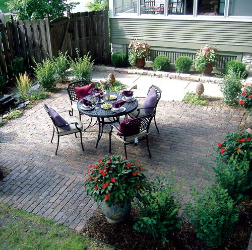 Green Patio Options: Brick, Stone, Gravel, Concrete And Recycled Materials