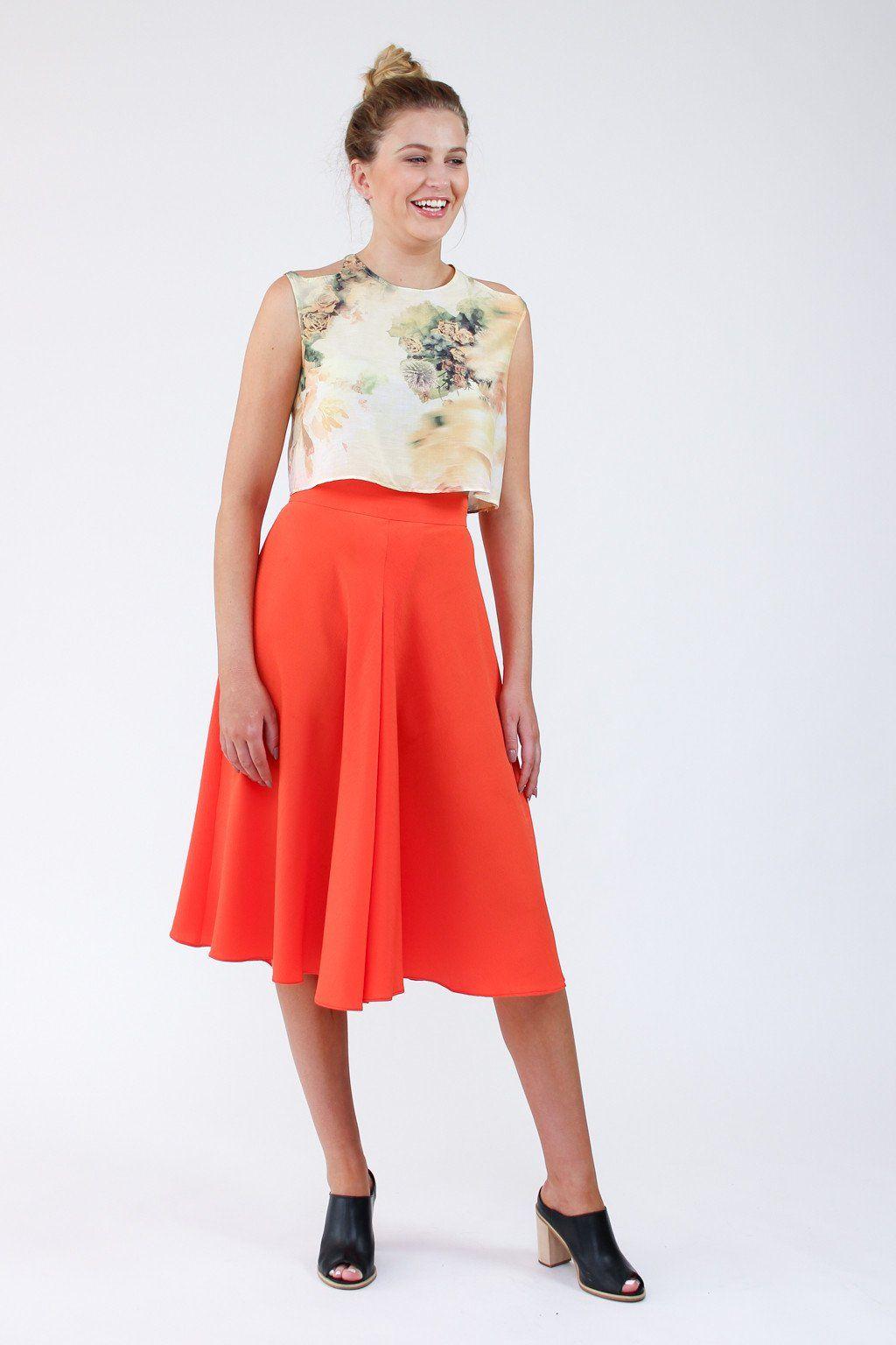 Tania Culottes sewing pattern | Tasche | Pinterest | Nähen ...