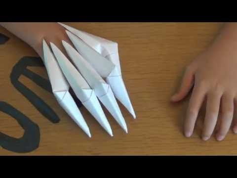 Origami Claws Pictures How To Make An Origami Claw Claws Video ... | 360x480