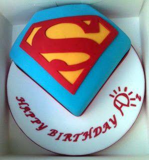 Cheeky Monkey Pictures Superman Birthday Cake Fit For A Man Of Steel Superman Birthday Cake Superman Birthday Cupcake Birthday Cake