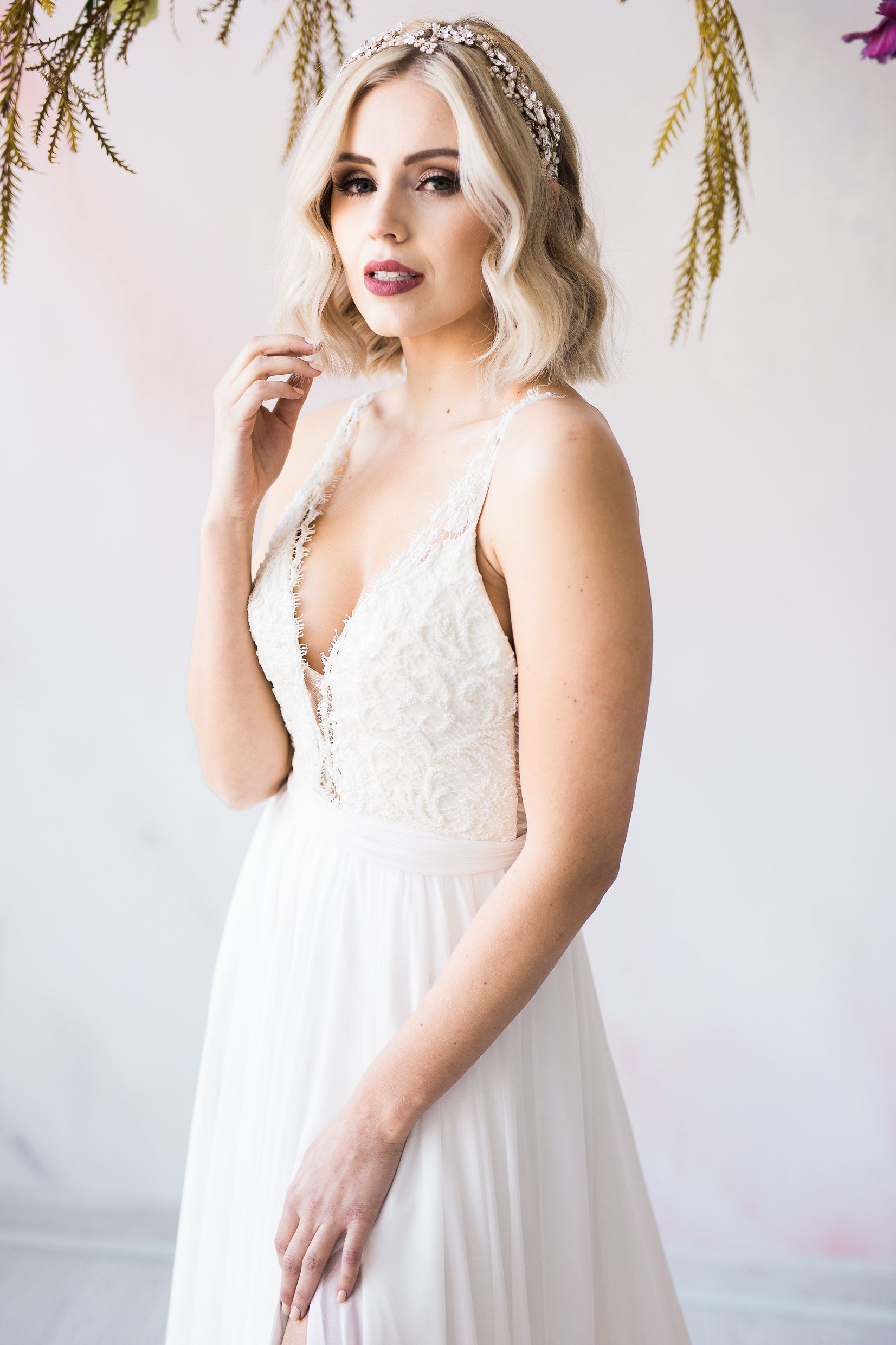 Kim Gown By Truvelle Photography Jim Chiesa Photography Florals