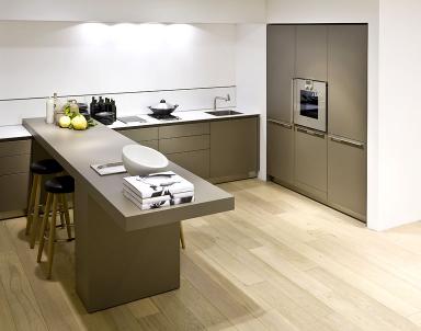 Küchen, die wenig Platz brauchen: Übereck eingepasst: \