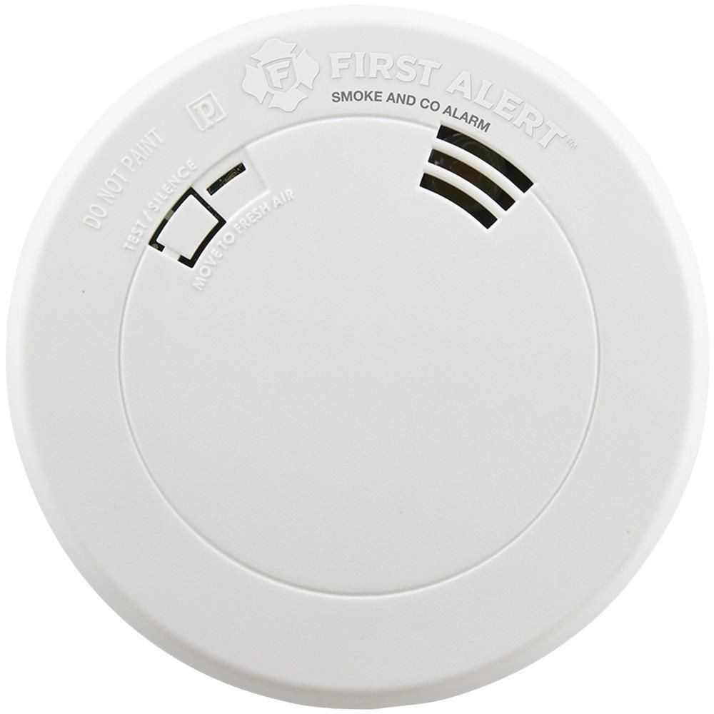 First Alert Smoke Carbon Monoxide Alarm With Voice Location
