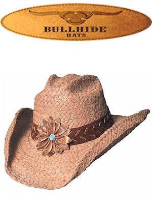 245d037f46 Bullhide Hats Western Straw Sunset 2130T Tan Womens  Amazon.com  Clothing