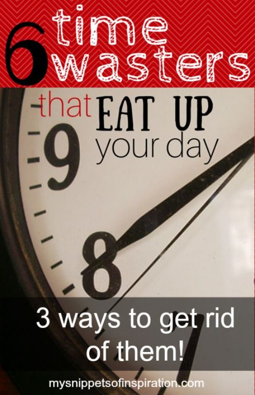 Here's a list of daily activities that you may not realize eat up your #time! #timemanagement #busy #moms