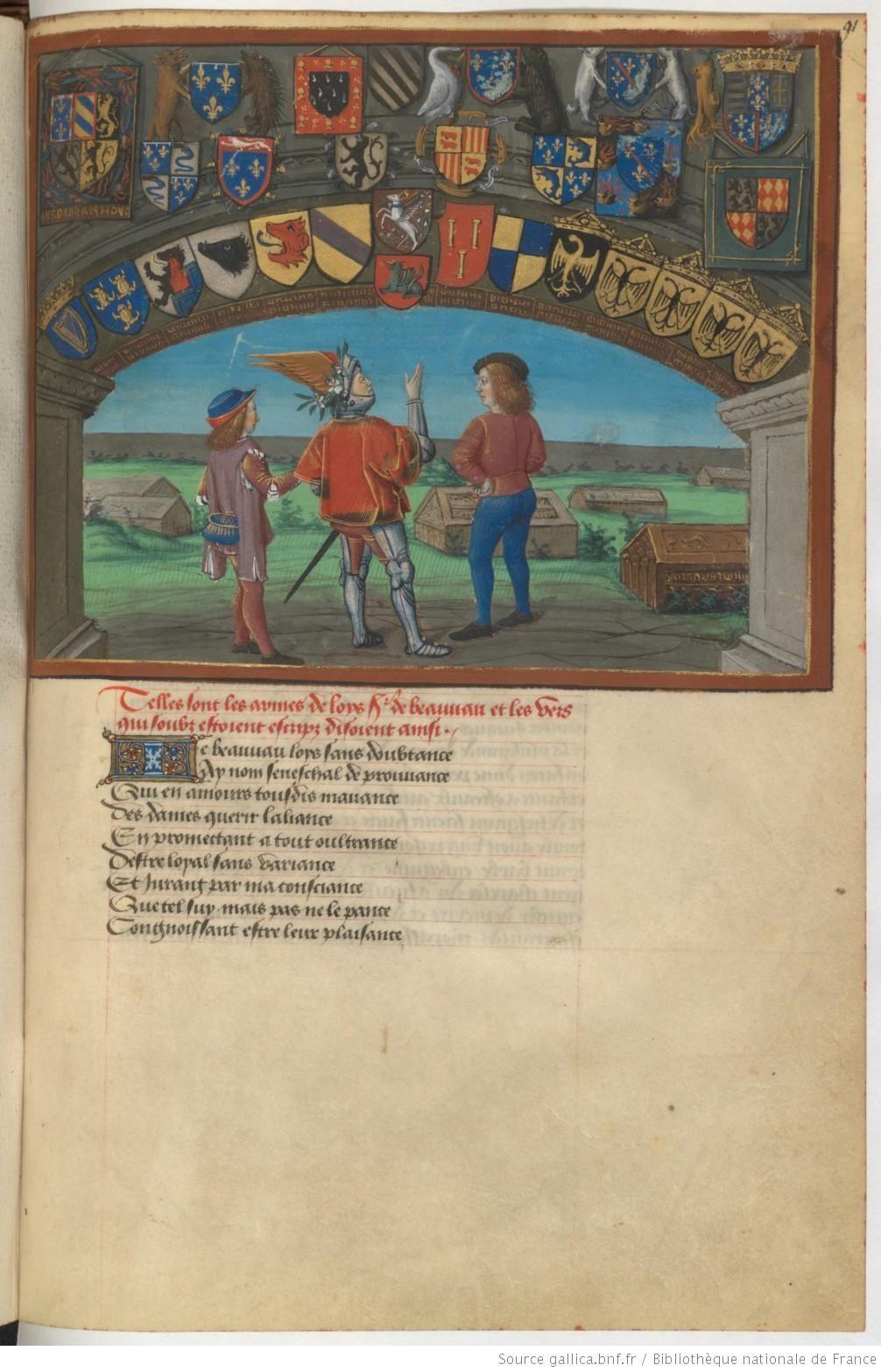 Le livre du Coeur d'amour épris, par le roi René d'Anjou