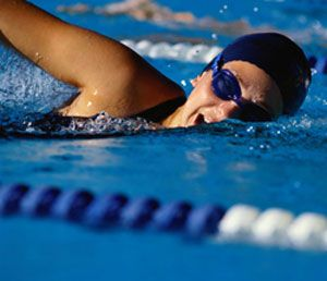 Beginner swim workout