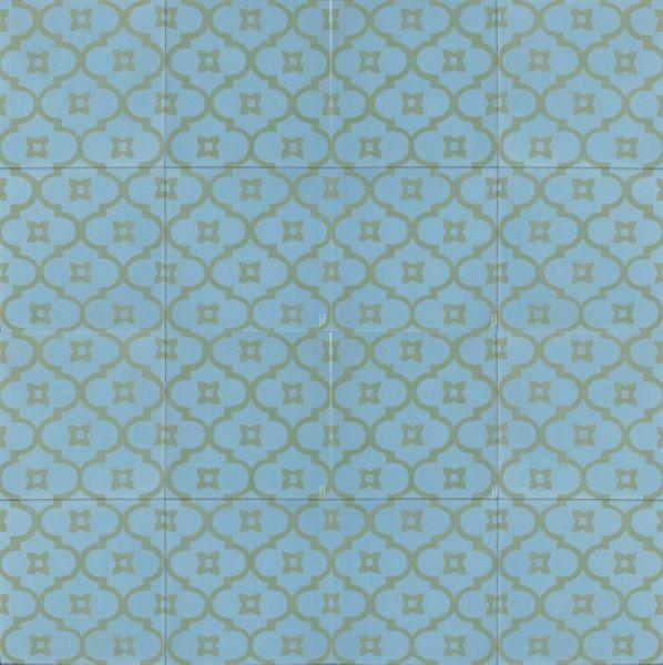 Blue Moorish Night Tile Layout Tiles Encaustic Cement Tile