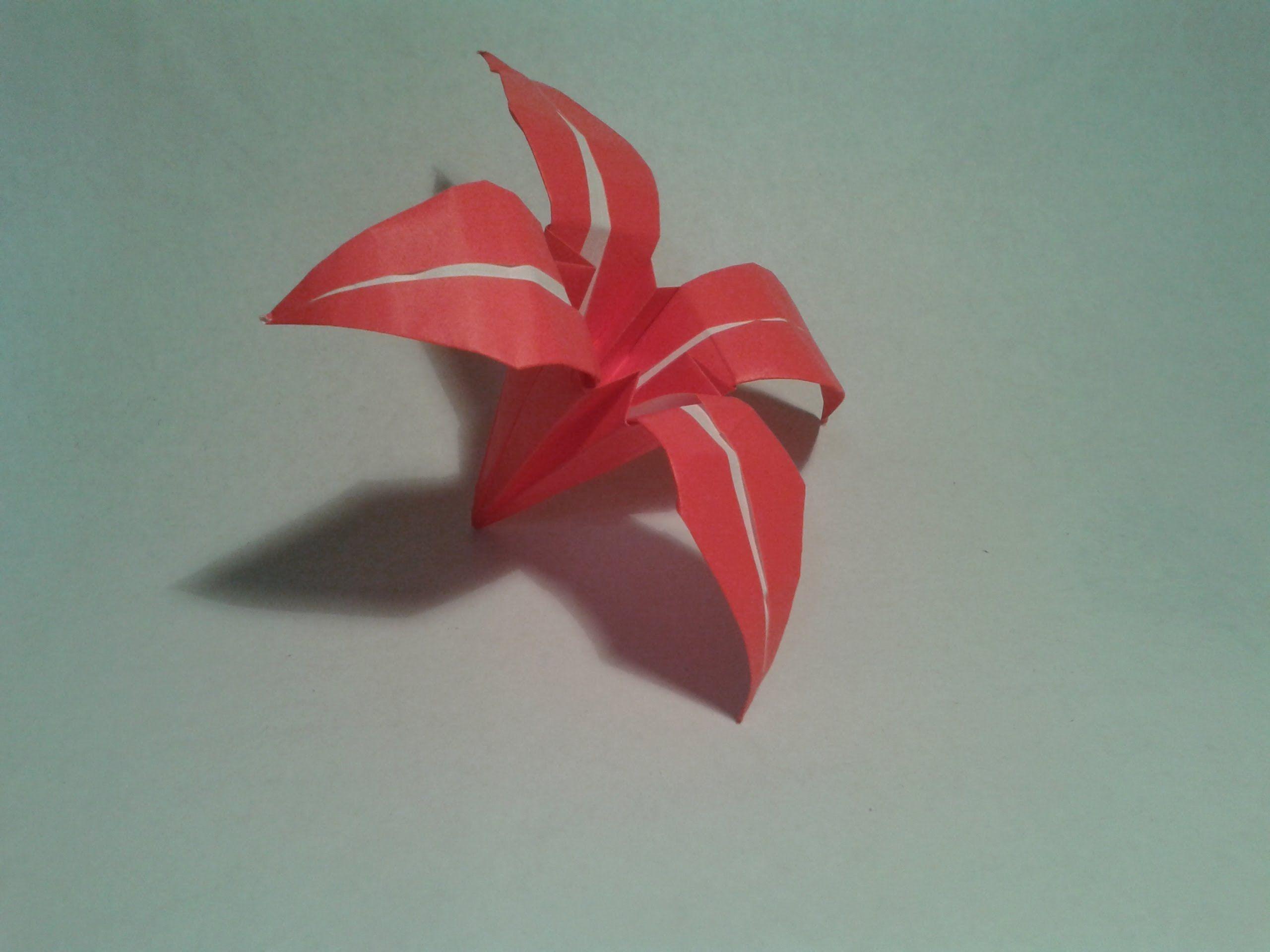 Very easy origami flower origami pinterest origami flowers very easy origami flower mightylinksfo