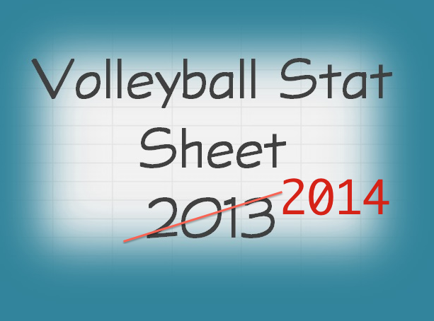 Volleyball Stat Sheets - Excel Workbook for Volleyball Coaches ...