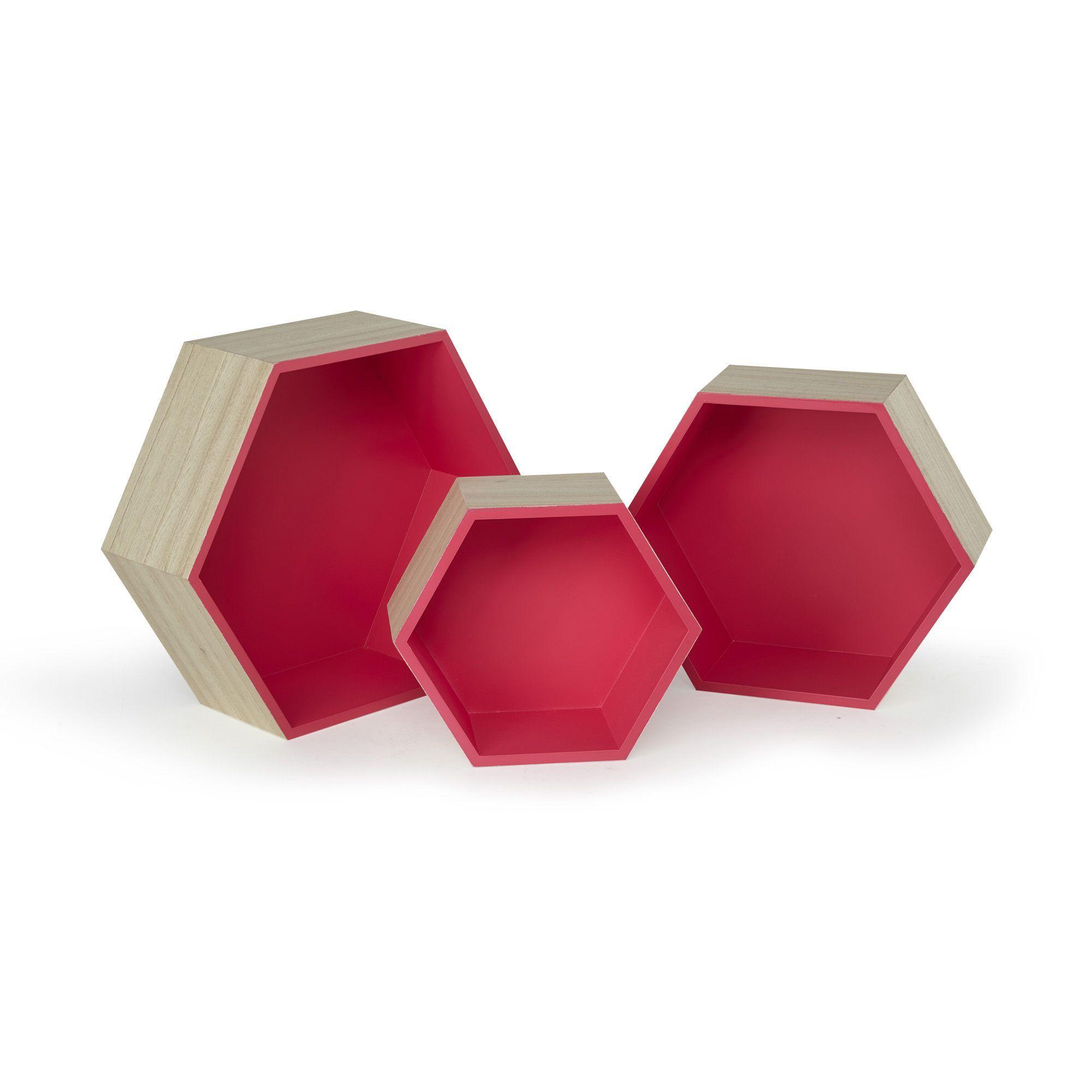 etag re hexagonale petit mod le rush salon et salle manger par pi ce alin a fr. Black Bedroom Furniture Sets. Home Design Ideas