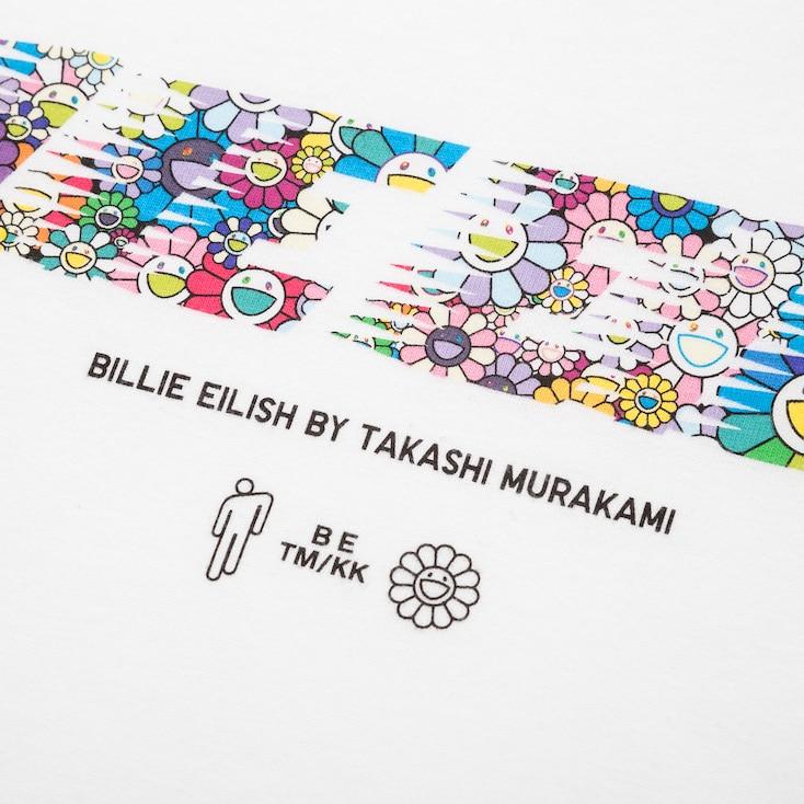Women Billie Eilish By Takashi Murakami Ut Short Sleeve Oversized Graphic T Shirt In 2020 Takashi Murakami Murakami Takashi