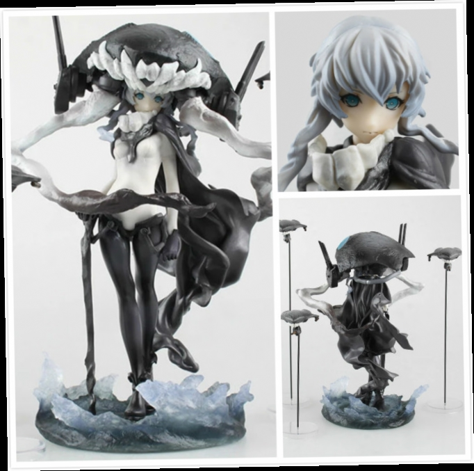 47.23$  Buy now - http://ali3ci.worldwells.pw/go.php?t=32664052085 - 22CM Kissen Anime Kantai Collection Action Figure Wo Class Anime PVC 28cm Action Figure Kantai Collection Game Toys Figurine