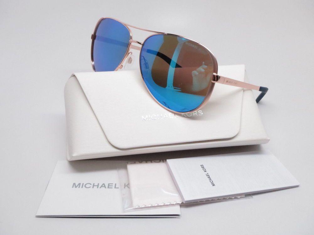 a24385d5c4 Brand   Michael Kors Model Number   MK 5004 Model Name   Chelsea Color Code    100325 Frame Color   Rose Gold-Tone Lens Color   Blue Mirror Polarized