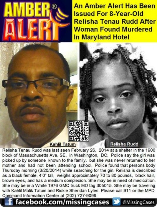 Amber Alert Issued For Eight Year Old Maryland Girl Truck Found Amber Alert Rudd Maryland Hotels