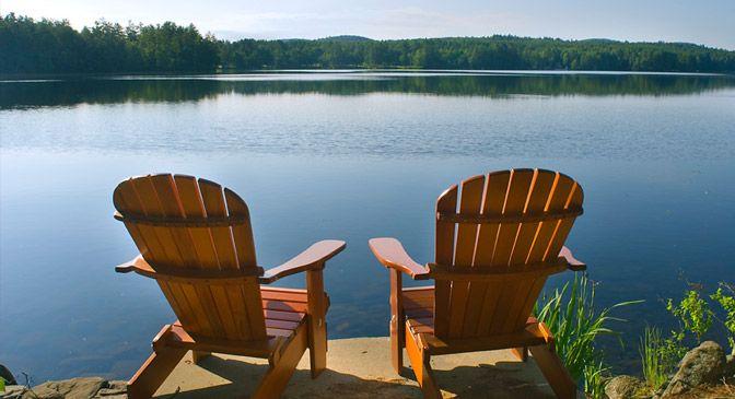 Luxembourg Adirondack Chairs   Lake House Ideas   Adirondack ...