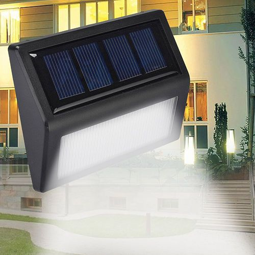 1pc 6led Solar Power Light Sensor Wall Light Garden Lamp Without Box Ebay Outdoor Wall Lighting Solar Powered Lights Garden Lamps