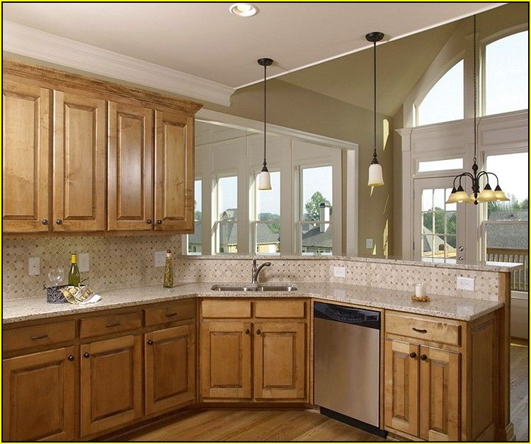 Best Color For Kitchen With Oak Cabinets Neutral Colors ...