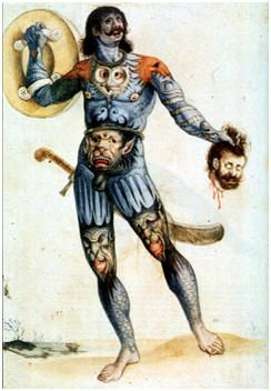 Obviously These Are Not Historic Ly Accurate Images The Picts Had Long Since Vanished When They Were Dr With Images Celtic Warrior Tattoos Warrior Tattoos Celtic Warriors