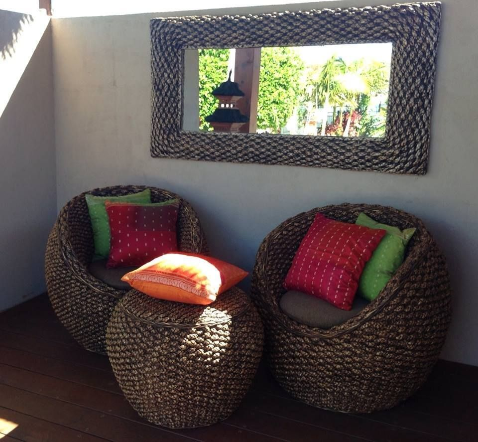 Balinese Water Hyacinth Furniture