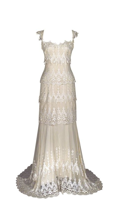 Kristene Wedding Dress by Claire Pettibone. Reminds me of the dress ...