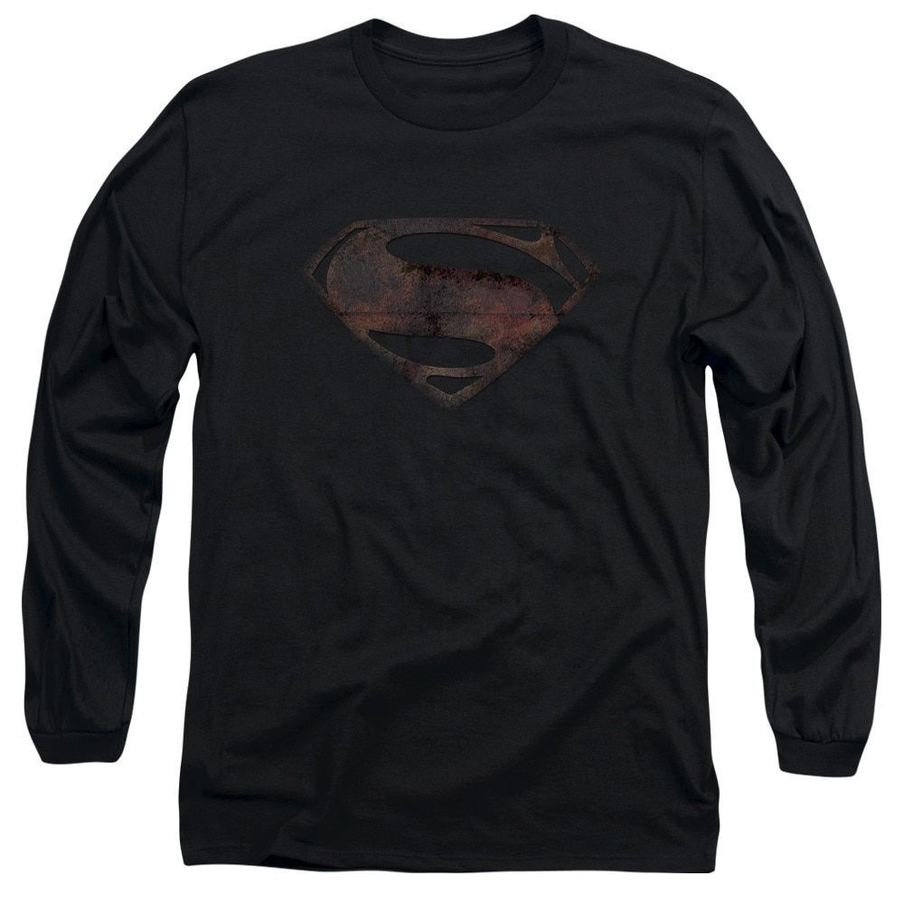 Man Of Steel/Mos Iron Rust Long Sleeve Adult T-Shirt 18/1 in