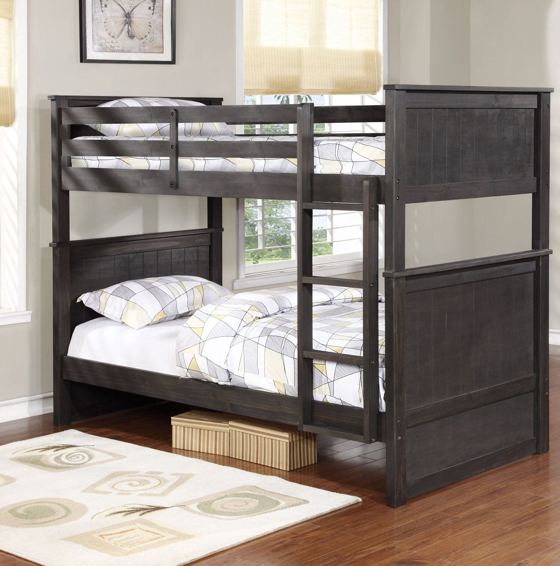 Bedroom ideas with loft bed  Leann Twin Bunk Bed  Products  Pinterest  Products