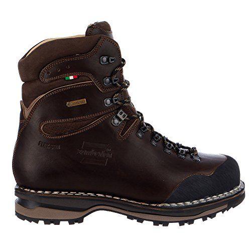 eaa7aea643b Zamberlan Mens 1030 Sella NW GT RR Hiking BootWaxed Dark Brown95 M ...