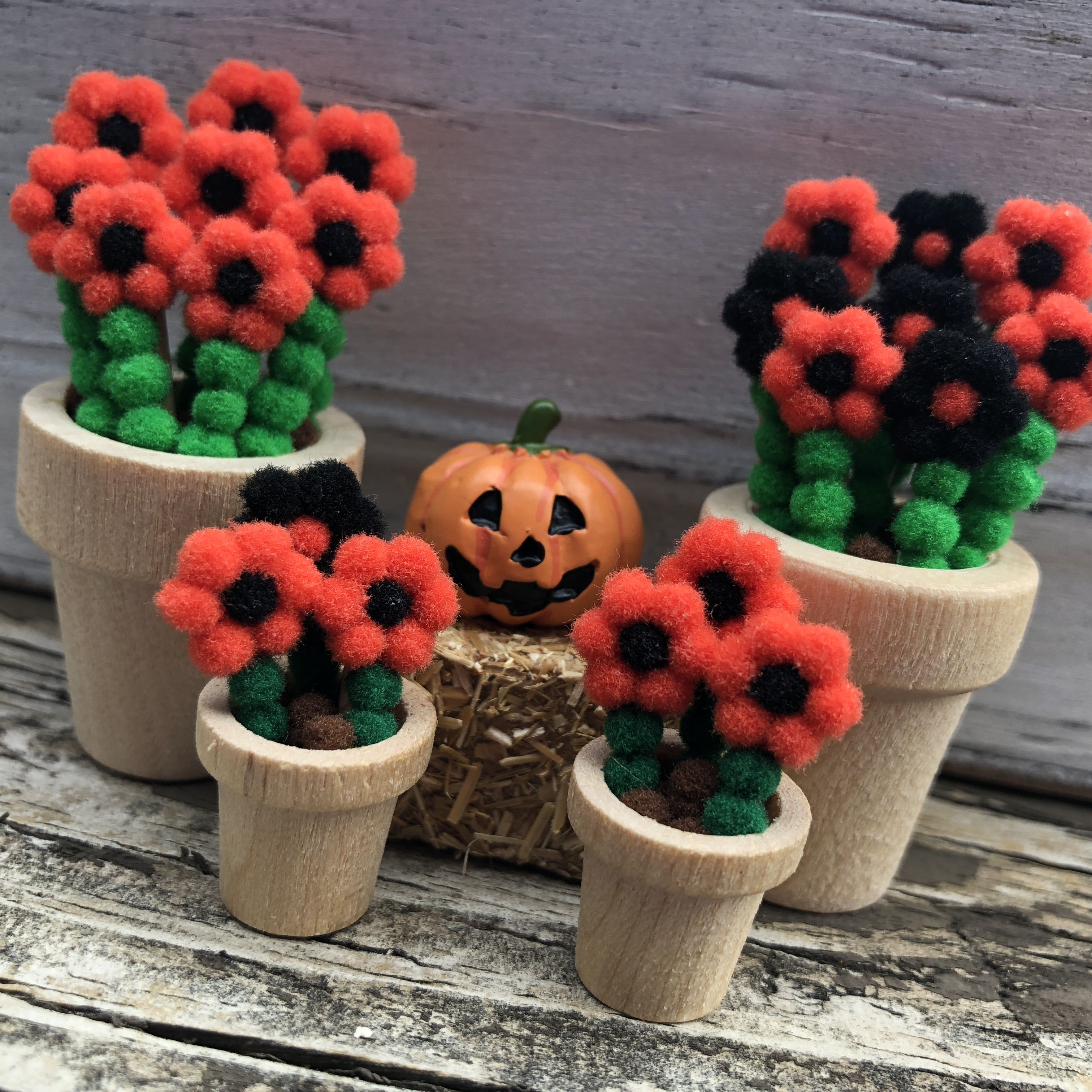 125 And 2 Inch Flowers For Halloween I Want Halloween Spooky