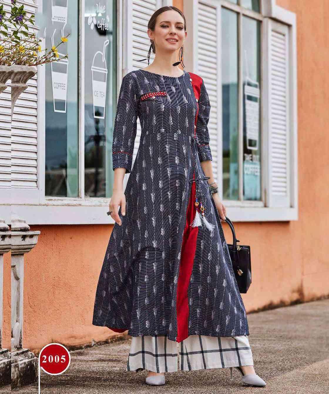 2eda960b34 Printed Kurtis Wholesale Formal Wear, designer kurtis, buy kurti in  wholesale rate, stylish kurtis collection, surat wholesale kurti,