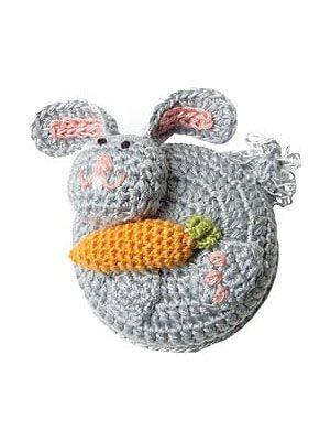 rabbit crochet measuring tape