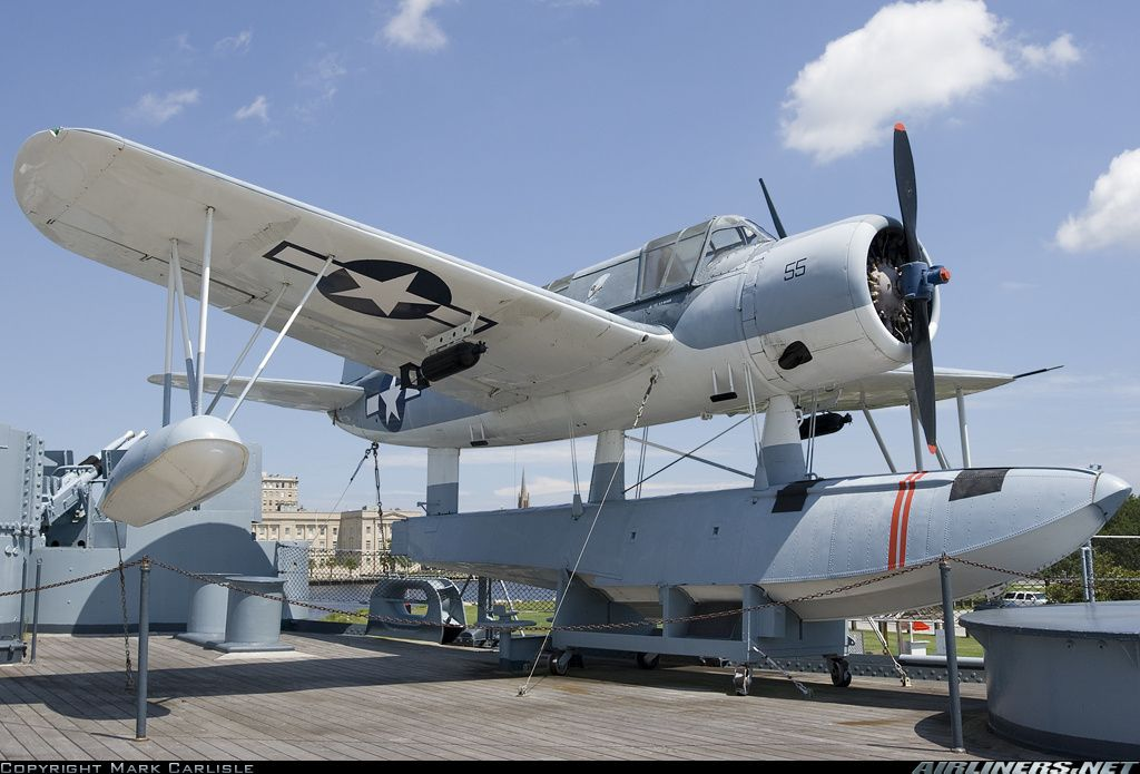 Picture Of The Vought Sikorsky Os2u 3 Kingfisher Aircraft