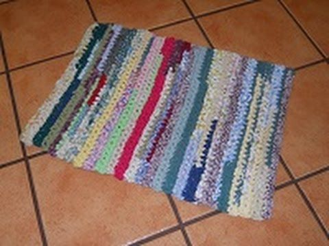 Rag Rug Tutorials For The Beginner Easy And Detailed Youtube Rag Rug Tutorial Crochet Rag Rug Braided Rug Diy