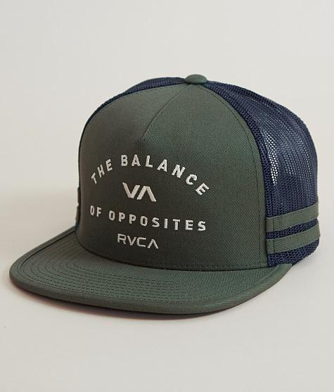 1d9a6cbef6bfd RVCA+Challenger+Trucker+Hat Gorras De Moda