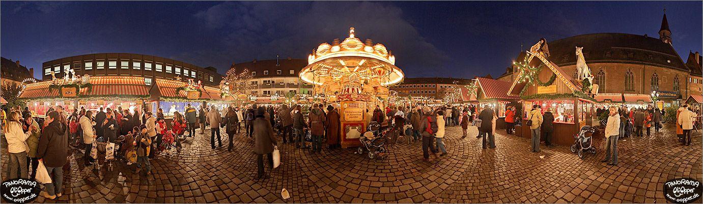 Weihnachtsmarkt Nürnberg.Christkindlesmarkt Nürnberg Panorama Bilder Kinderweihnacht Auf