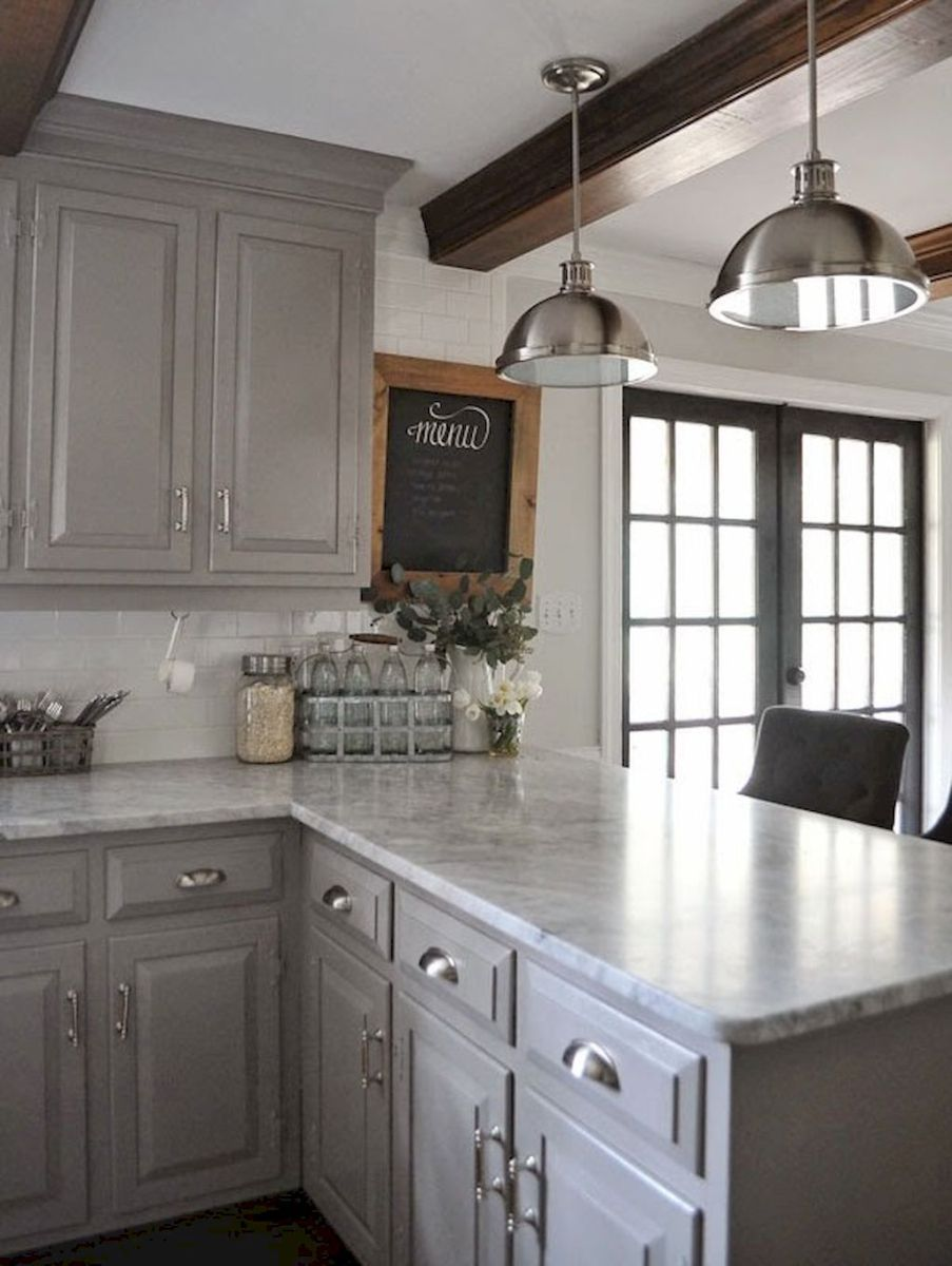 Best Rustic Farmhouse Kitchen Cabinets In List 46 Oneonroom