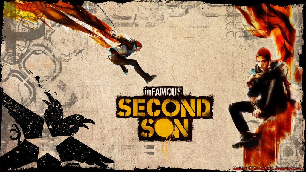 infamous second son ps4 gameplay 1080p video