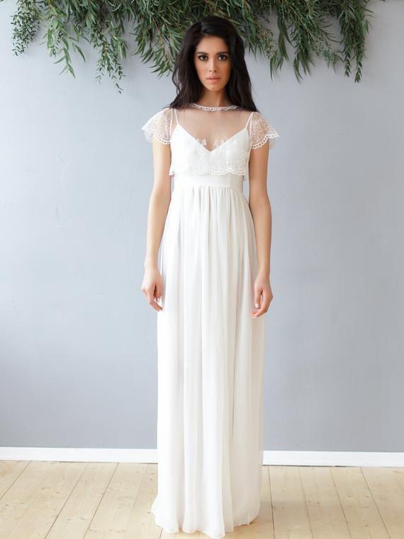 Dress Ss16 Wedding Boho Etsy