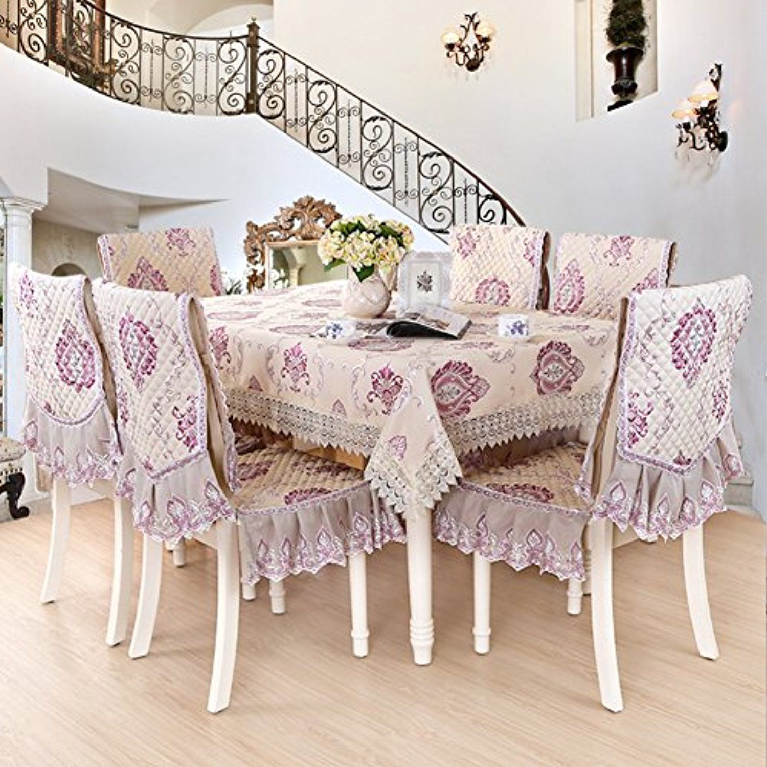 Chair Cover Lace Table Cloth Coffee Covereuropean Style Suitschair