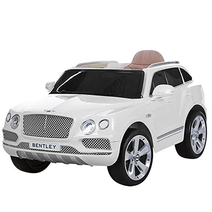 Getbest Kids Bentley Licensed Suv Ride On Car With 12v Battery Ed 2x Engine