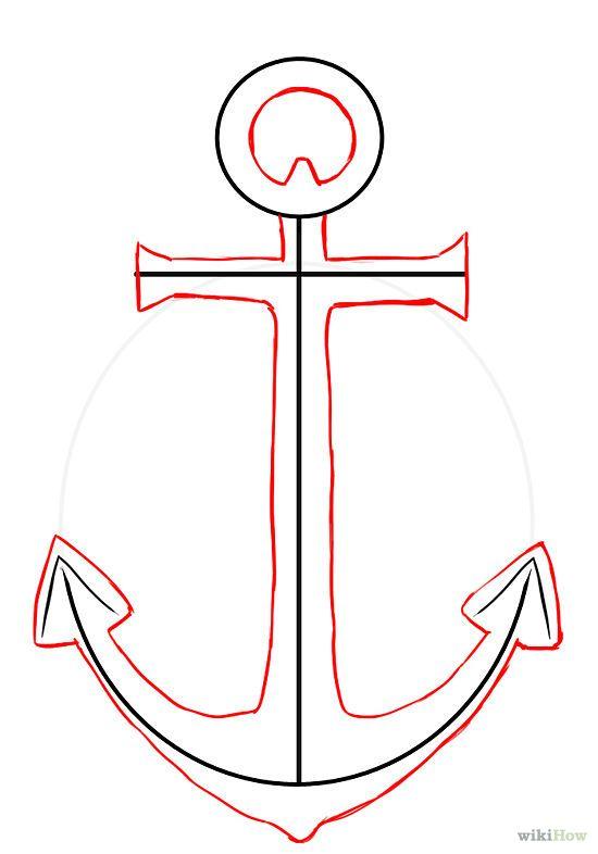 Como Dibujar Un Ancla Anchor Drawings Anchor Art Anchor Painting
