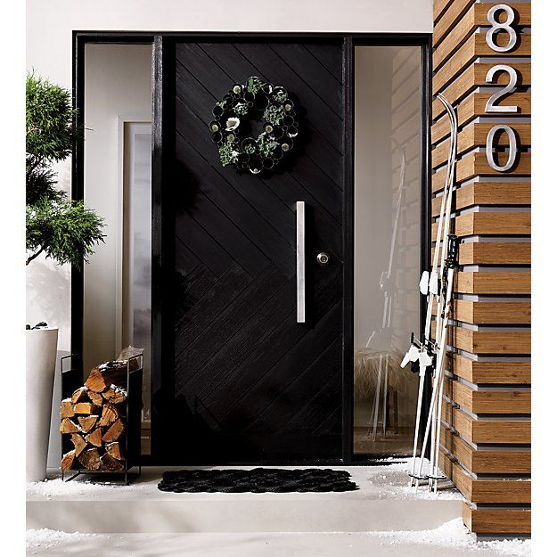 Modern house number 0 Number 0Door EntryHouse Contemporary - Amazing black front door For Your House