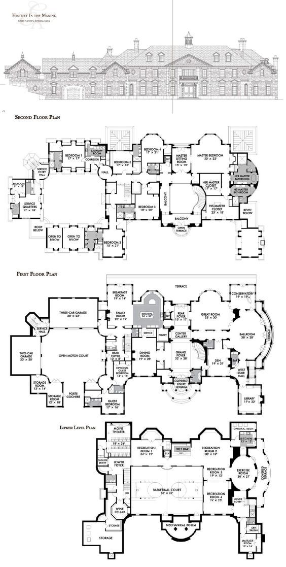 The Stone Mansion Estate In Alpine Nj House Plans Mansion Mansion Floor Plan Luxury House Plans